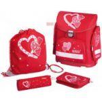 Ghiozdan Heartbeat, midi echipat Herlitz 1128014/6