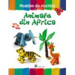 ANIMALE DIN AFRICA. MODELAM DIN PLASTILINA