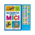 Alfabetul pentru cei mici. Literele, denumirile animalelor și sunetele lor