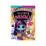 Casa de modă MIAU. Superstaruri. Carte de colorat cu autocolante reutilizabile
