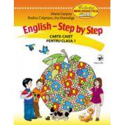 English. Step by Step. Carte-caiet pentru clasa I