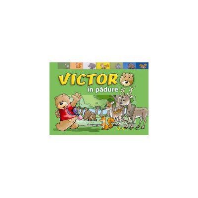 Victor în pădure. Carte cartonata