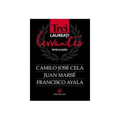 Trei laureati Cervantes într-o carte