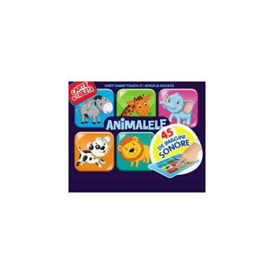 ANIMALELE. 45 BUTOANE SONORE. CARTE & TABLETA