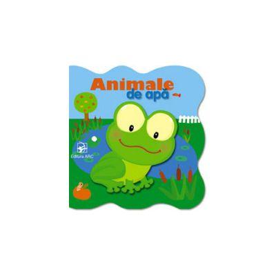 ANIMALE DE APA. CARTE CARTONATA