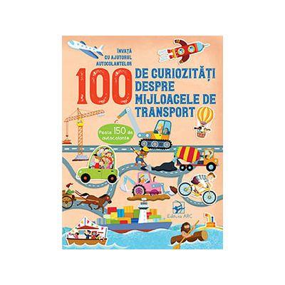 100 de curiozități despre mijloacele de transport. Învață cu autocolante
